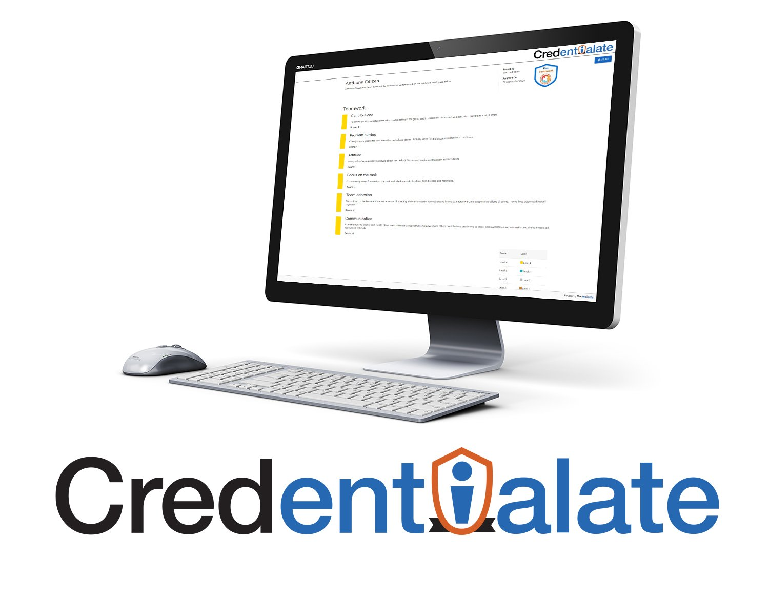 Credentialate - the world's first Credential Evidence Platform