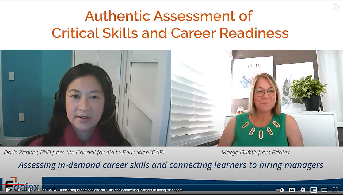 Authentic Assessment of Critical Skills and Career Readiness - Video Interview Series