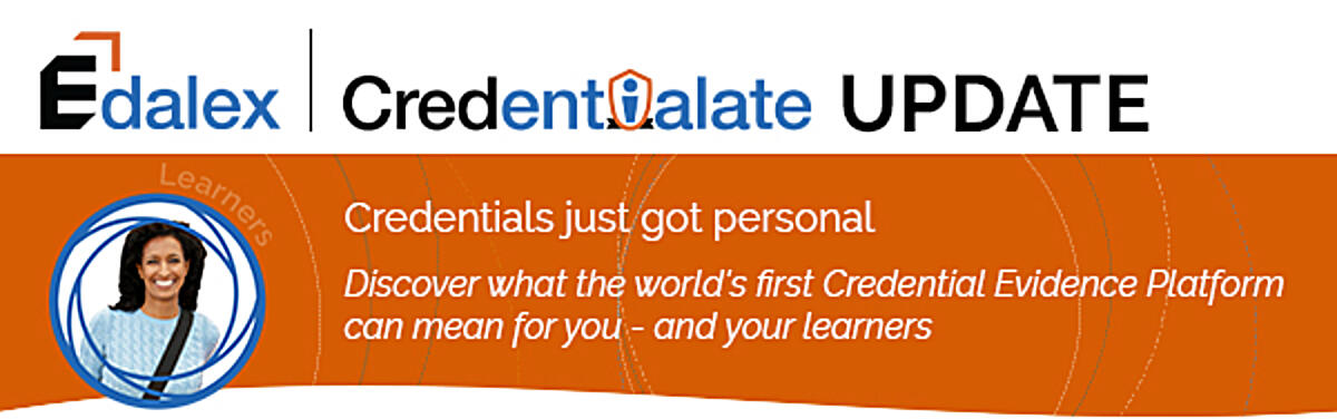 Credentialate by Edalex - the World's First Credential Evidence Platform