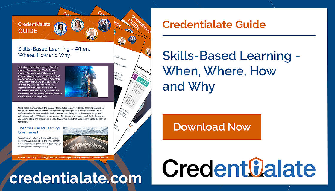 Credentialate Guide - Skills-Based Learning - When, Where, How and Why