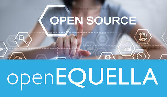 Edalex is excited to announce EQUELLA's transition to open source - openEQUELLA