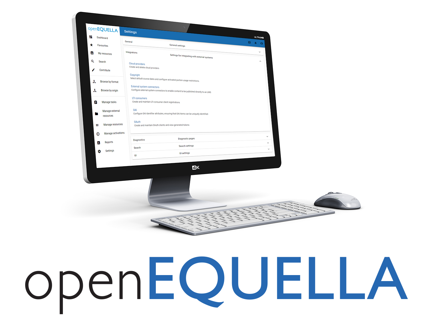 openEQUELLA - Digital Repository for Educational Content Management